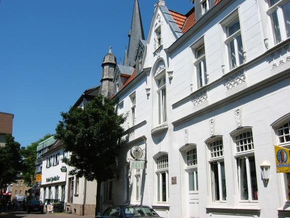 Menden; Marktstraße, oberes Ende