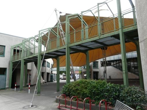 Menden, Innenhof Neues Rathaus