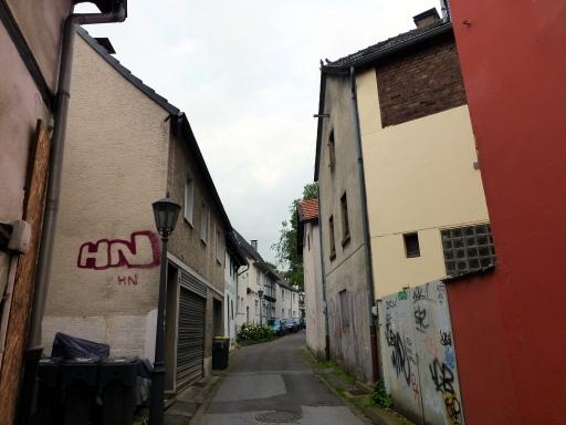 """Menden, untere Straße """"An der Stadtmauer"""""""