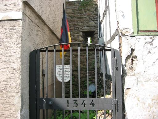 Menden; letzter Stadtmauerrest
