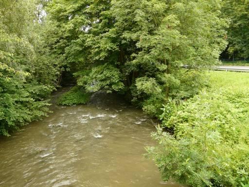 Menden, Hönne von Kalköfenstr.-Brücke