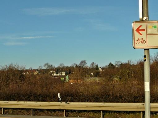 Menden, B515 und Ruhrtalradweg