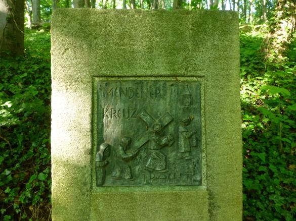 Menden, Bildstele zur Mendener Kreuztracht auf dem Kapellenberg