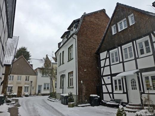 Menden, Wasserstraße