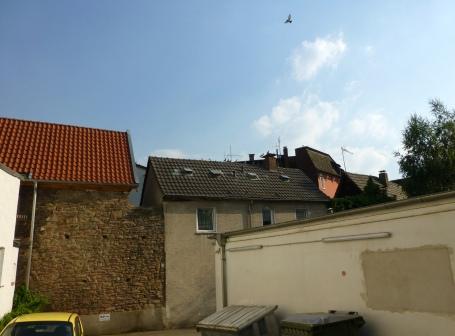 Menden, Stadtmauerrest am Nordwall
