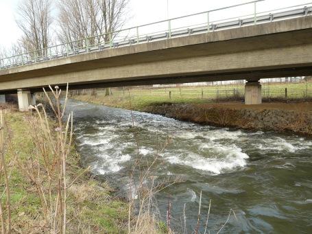 Menden-Steinhausen, B515n-Brücke über die Hönne