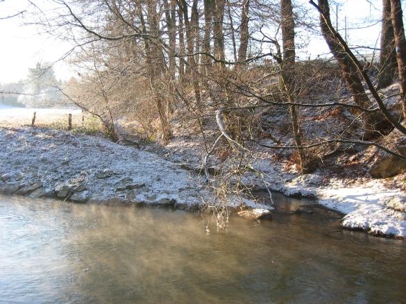 Menden-Bösperde, Mündung Rüthersbach in die Hönne