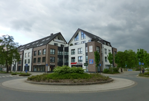 Menden, Kreisel Bodelschwinghstr. / Hönneufer / Poststr.