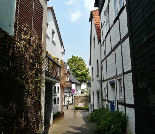 Menden, Durchgang Südwall-Vinzenzstr.-Färbergasse