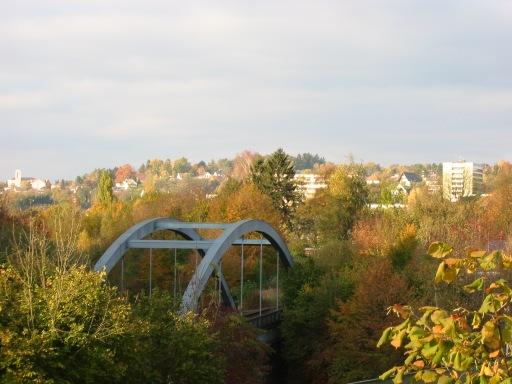 Menden, Bahnbrücke über die B7