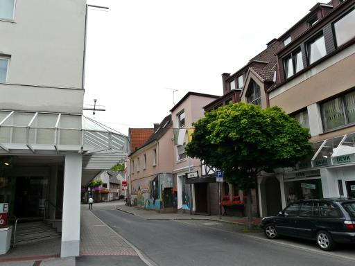 obere Turmstr. Richtung Hauptstr.