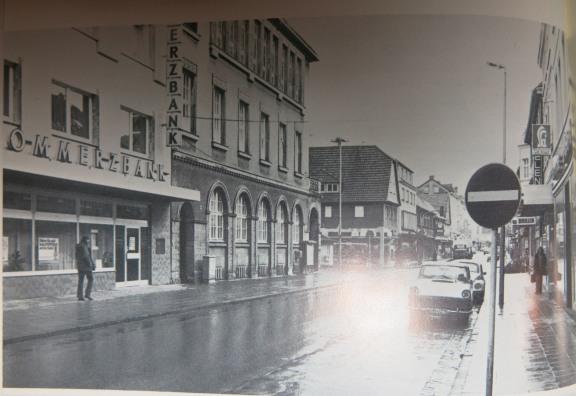 Menden, mittlere Hauptstr. um 1972