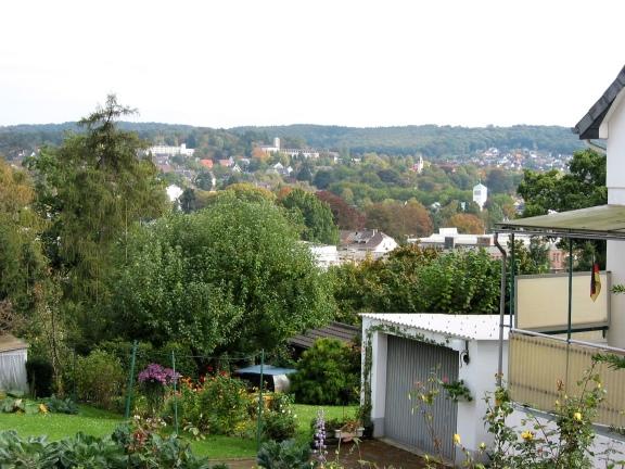 Menden, vom Klevesberg auf Pellenberg und Rothenberg