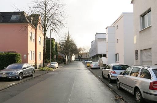 Menden, obere Gartenstraße, Richtung Nordwall