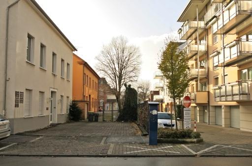 Menden, Durchblick von der oberen Gartenstr. zur Unnaer Str.