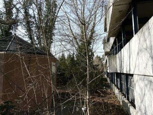 Menden, Grünanlage am Ex-Parkhaus Nordwall