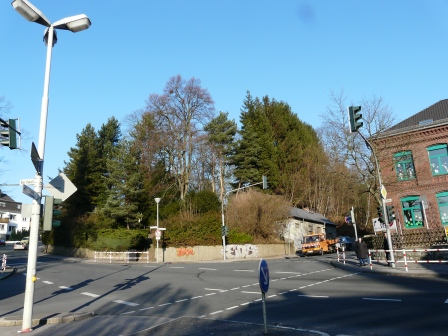Menden, Kreuzung Ostwall/Werringser Str./ Schwitter Weg
