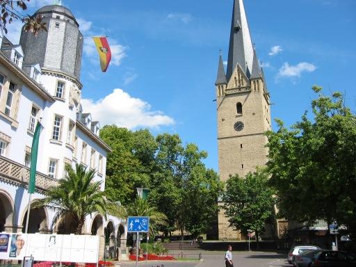 Menden, Marktplatz 2004
