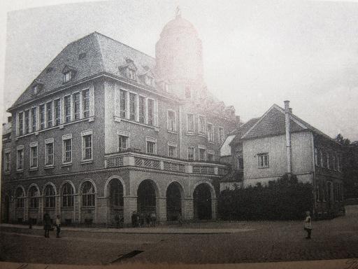 Menden, (Altes) Rathaus, um 1923