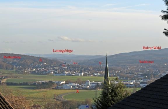 von Fröndenberg auf Menden/Sauerland
