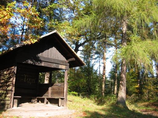 Menden, Schutzhütte am oberen Brelener Weg