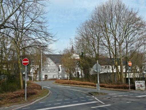 Menden, Südwall-Durchstich / Walramstr.