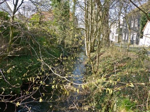 Menden, Mühlengraben zwischen Südwall-Durchstich und Lohmühle