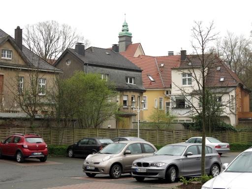 Menden, vom Rewe-Parkplatz auf  Lohmühle/Walramstr.