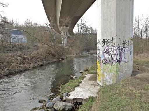 Menden, B515n-Hochbrücke nahe Walzweg, nördliche Hönne-Querung