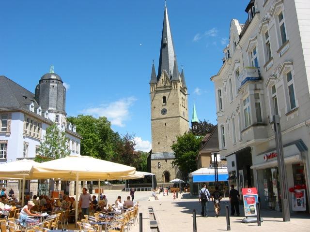 Marktplatz mit oberster Bahnhofstr.