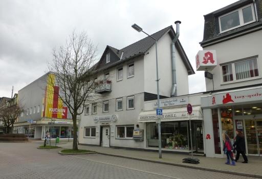 Menden, untere Kolpingstr., vor Abzweig Baustr.