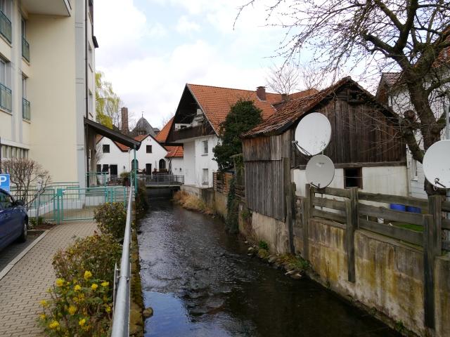 Menden,  Mühlengraben vor Mendener Mühle