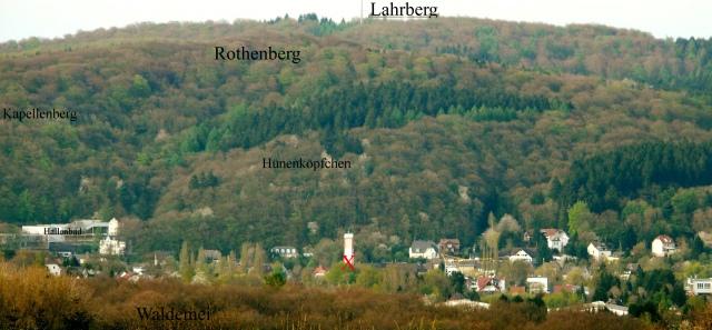 Menden, von Hemer-Mesterscheid auf Rothenberg