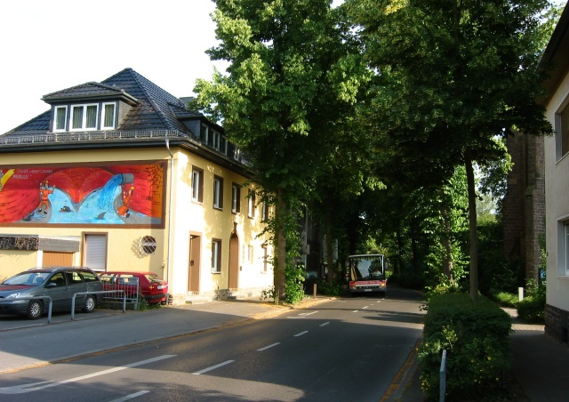 Menden, unterer Westwall von Ecke Pastor-Quade-Str.