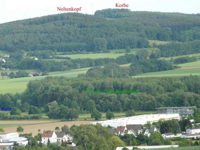 von Hohenheide über N.S.G. auf Noltenkopf und Korbe