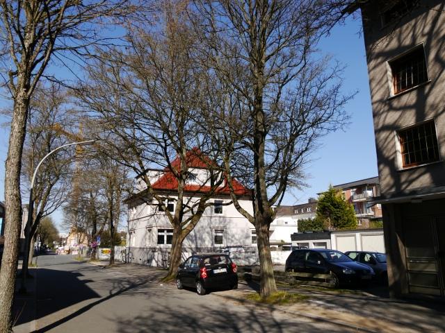 mitte-obere Papenhausenstr., Ostseite