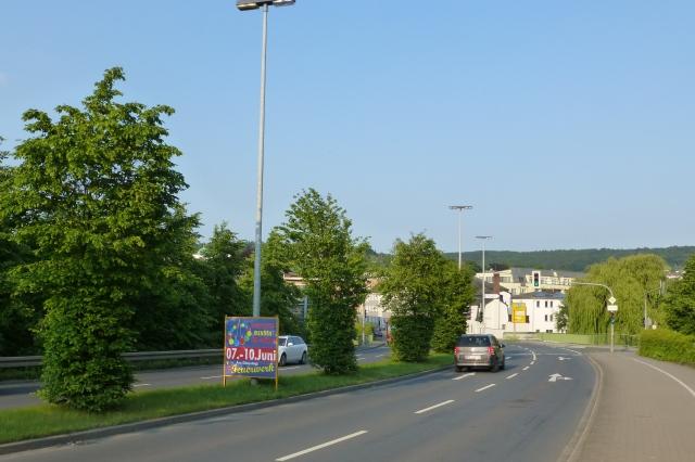 Kirmesplakat auf Märkische Str.