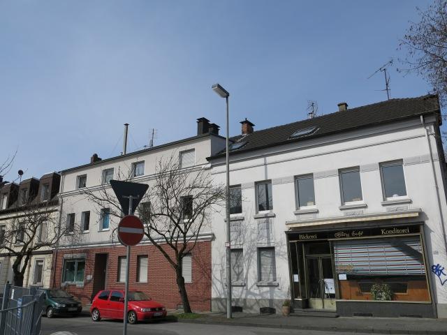 mittlere Kaiserstr. mit Ex-Café Echt