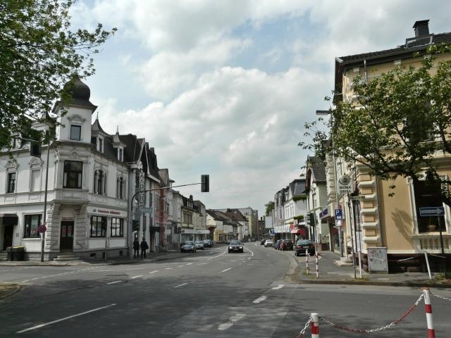 auf untere Unnaer Str. von Kreuzung Kaiserstr.