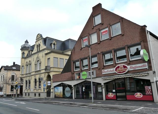 Unnaer Str. / Kaiserstr.; mit Denn's und Groß-Villa