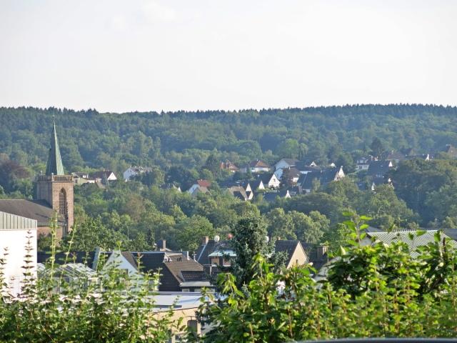 Aussicht vom Südrand des Wilhelmshöhe-Park