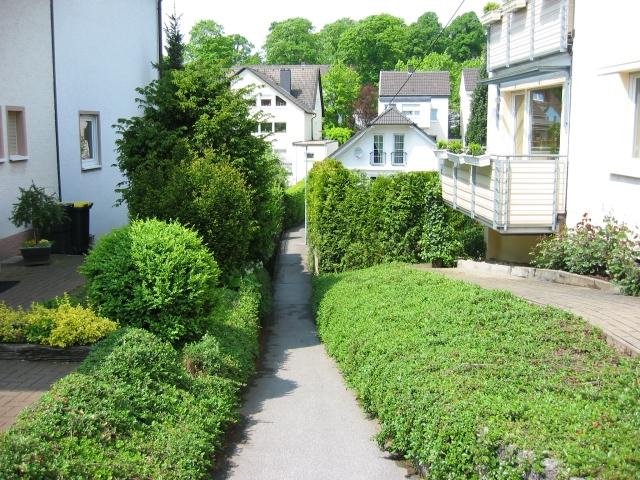 Fußweg vom Hahnenwall zur Werringser Str.