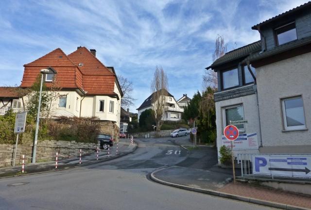 Anfang Krankenhausweg / mittlere Bittfahrt