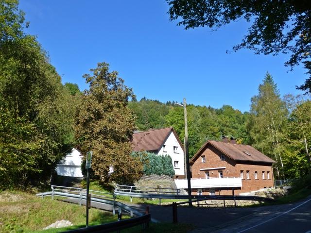 Siedlung Borg an der unteren Hüstener Str.