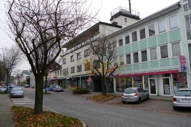 mittlere Kolpingstr., mit (ehem.) Riedel-Hochhaus