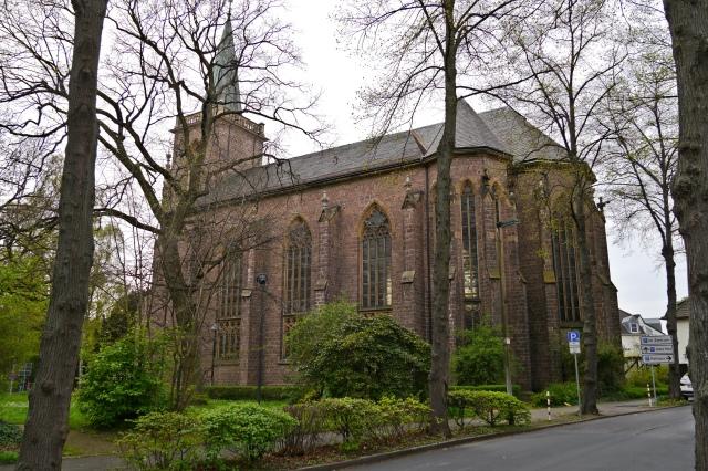 Heilig-Geist-Kirche vom Westwall
