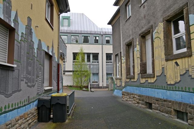 Durchgang Westwall - Rathaus