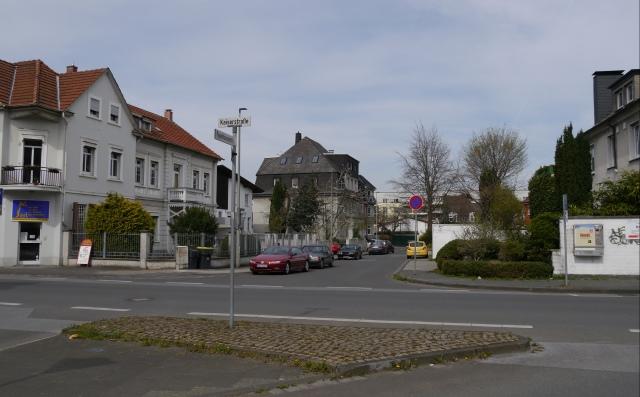 Kaiserstr. / unterste Papenhausenstr.