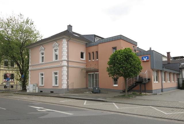 Mendener Bank, Rückseite, von Kaiserstraße