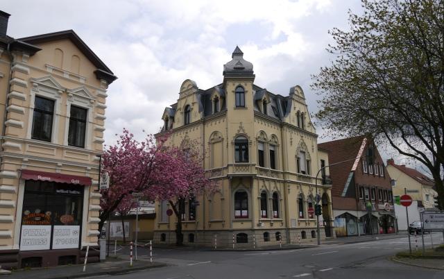 Unnaer Str. / Kaiserstr., mit Groß-Villa